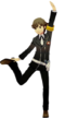 P3D Ken Amada Persona 4 Arena DLC costume