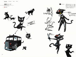 P5 Concept Art Old Morgana