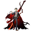 Tohru Adachi (BlazBlue Cross Tag Battle, Character Select Artwork)
