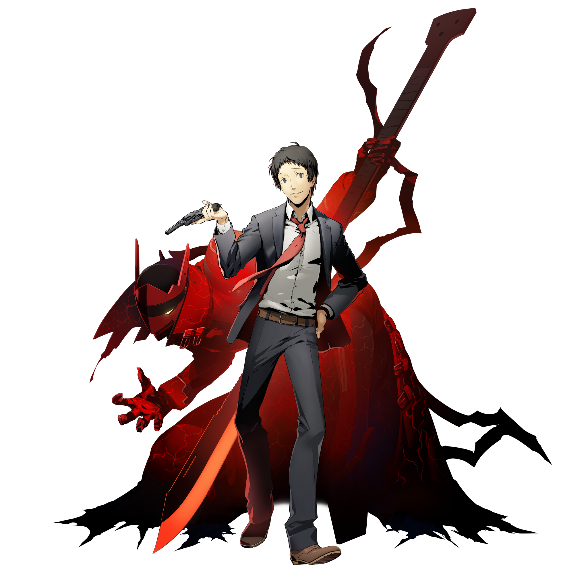 Persona 4 Magatsu Izanagi Wallpaper | Biajingan Wall