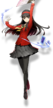 Yukiko Amagi (BlazBlue Cross Tag Battle, Character Select Artwork)