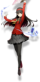 Yukiko Amagi (BlazBlue Cross Tag Battle, Character Select Artwork).png