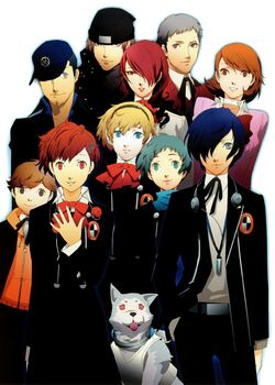 Persona 3 portable fanbook