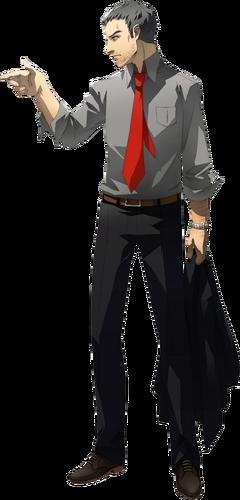 Persona 4 Anime Characters Database : Ryotaro dojima megami tensei wiki fandom powered by wikia