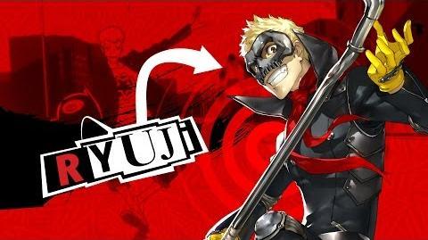 Persona 5 Introducing Ryuji!