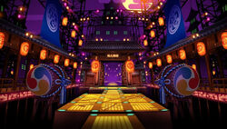 P4D Ochimizu Midnight Stage entrance