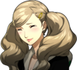 P5R Portrait Ann Smiling While Crying