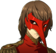 P5R Portrait Crow Disgusted