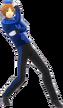 P4D Yosuke Hanamura deep blue clothes