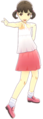 P4D Nanako Doijima casual wear summer change.PNG