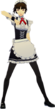 P5D Makoto Nijima maid outfit