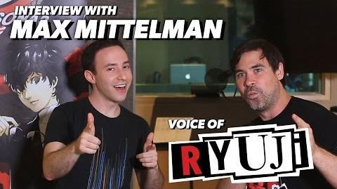 Persona 5 Max Mittelman talks about playing Ryuji!