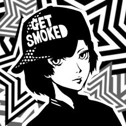 Persona 5 Confidant Guides Icon (Tower) - Shinya Oda