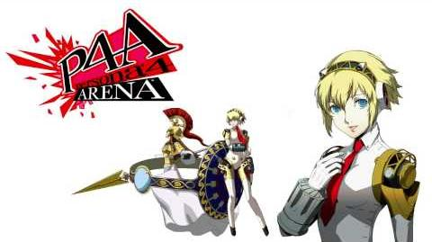 Persona 4 Arena Aigis Voice Clips English - Ingles