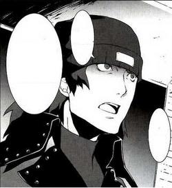 Persona 3 manga Shinjiro