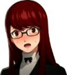 P5R Portrait Sumire Embarrassed