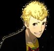 P5 portrait of Ryuji smiling