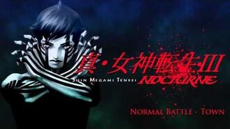 Normal Battle - Town - SMT III Nocturne