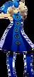 P5D Ann Takamaki Velvet Room Outfit