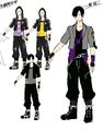 P4D Official Visual Visual Book Original Stage Costume for Kanji, 02.jpg