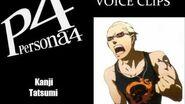 Persona 4 Kanji Tatsumi Voice Clips