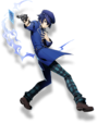 Naoto Shirogane (BlazBlue Cross Tag Battle, Character Select Artwork)