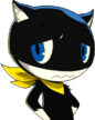 P5 portrait of Morgana Upset