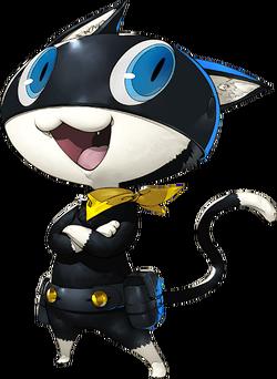 P5 Morgana character artwork