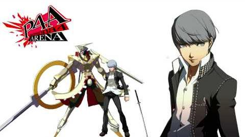 Persona 4 Arena Yu Narukami Voice Clips Japanese - Japones