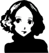 Haru Text Icon