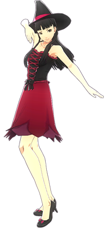 Image - P4D Yukiko Amagi halloween outfit change.png | Megami Tensei Wiki | FANDOM powered by Wikia