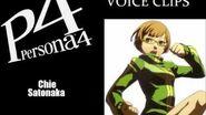 Persona 4 Chie Satonaka Voice Clips