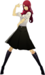 P3D Mitsuru Kirijo summer school uniform