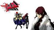 Persona 4 Arena Mitsuru Kirijo Voice Clips English - Ingles