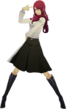 P3D Mitsuru Kirijo winter school uniform