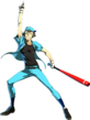 Shadow Junpei P4A Ultimax Artwork
