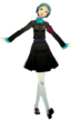 P3D Fuuka Yamagishi gekkoukan school uniform with SEES band