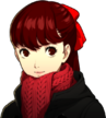 P5R Portrait Kasumi Winter Coat 1