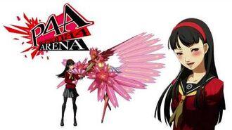 Persona 4 Arena - Yukiko Amagi Voice Clips English - Ingles
