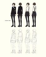 Shujin Female Winter Uniform