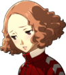 P5R Portrait Haru Gym Embarrassed