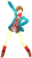 P4D Chie Satonaka Midwinter Outfit change free DLC.png