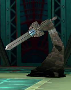 34 justice sword