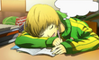 P4AU (P4 Mode, Chie dreaming about her and master)