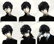P5, Protagonist , intergation portrait
