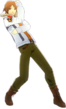 P4D Yosuke Hanamura winter outfit change