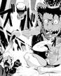 P5 manga Asmodeus' demon form