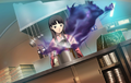 P4AU (P4 Mode, Yukiko checking her cooks).png