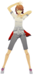 P3D Yukari Takaba Gekkoukan Gym Uniform
