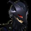 P5R Portrait Black Mask Sad